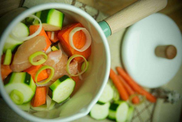 papinha de legumes