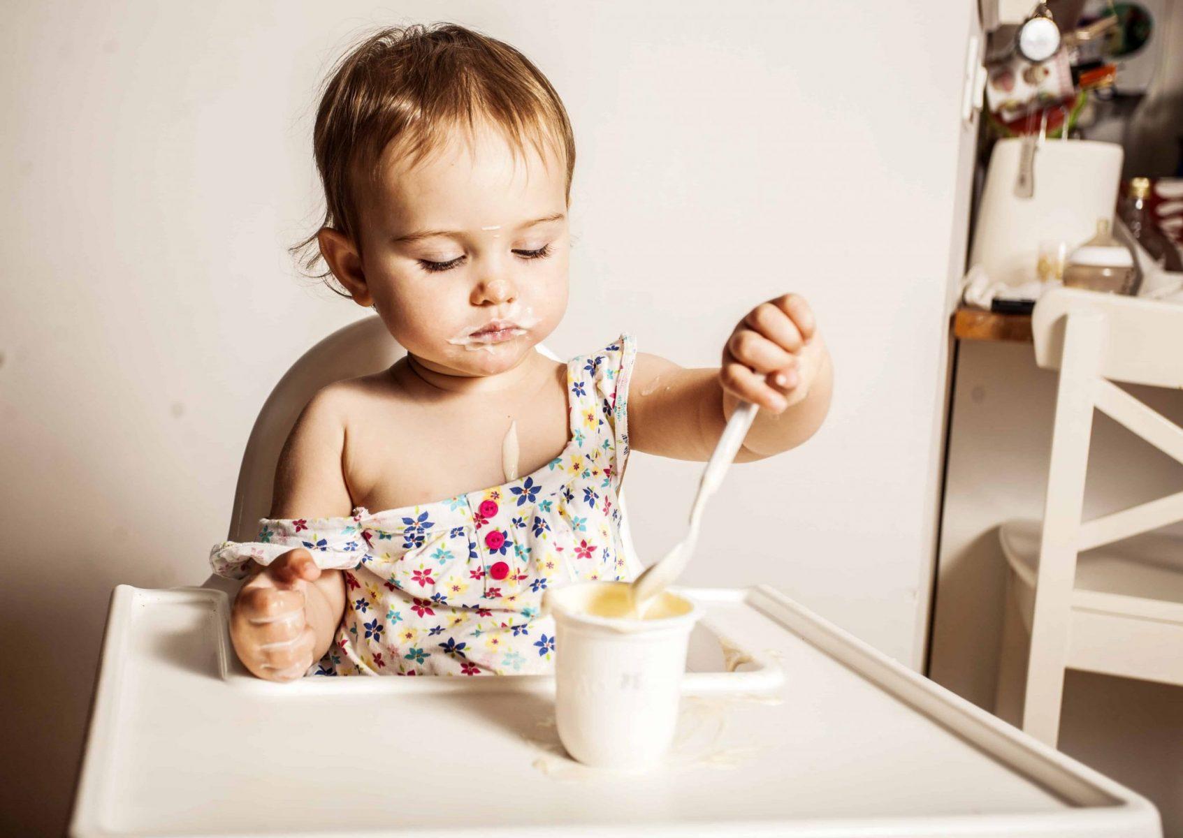 Iogurte para bebé, sim ou não?