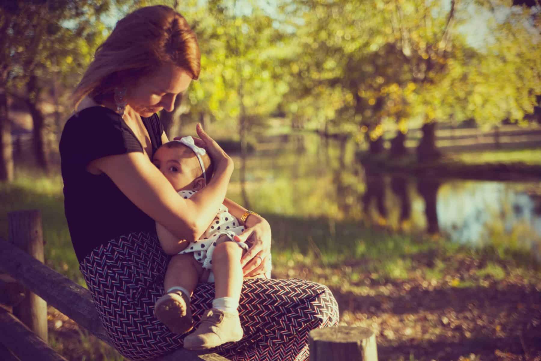 A amamentação e o sono do bebé
