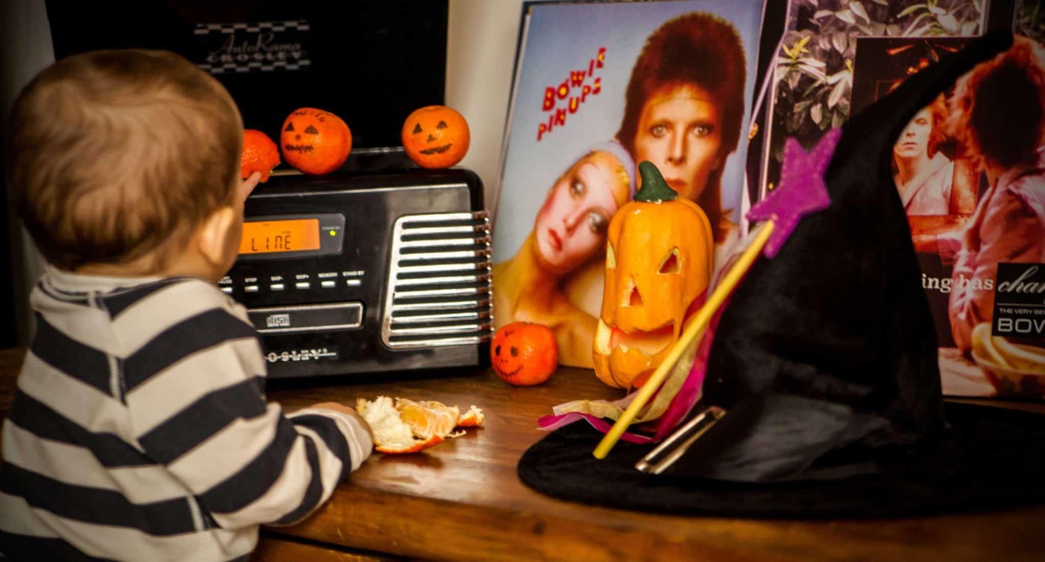 O primeiro Halloween da nossa bruxinha