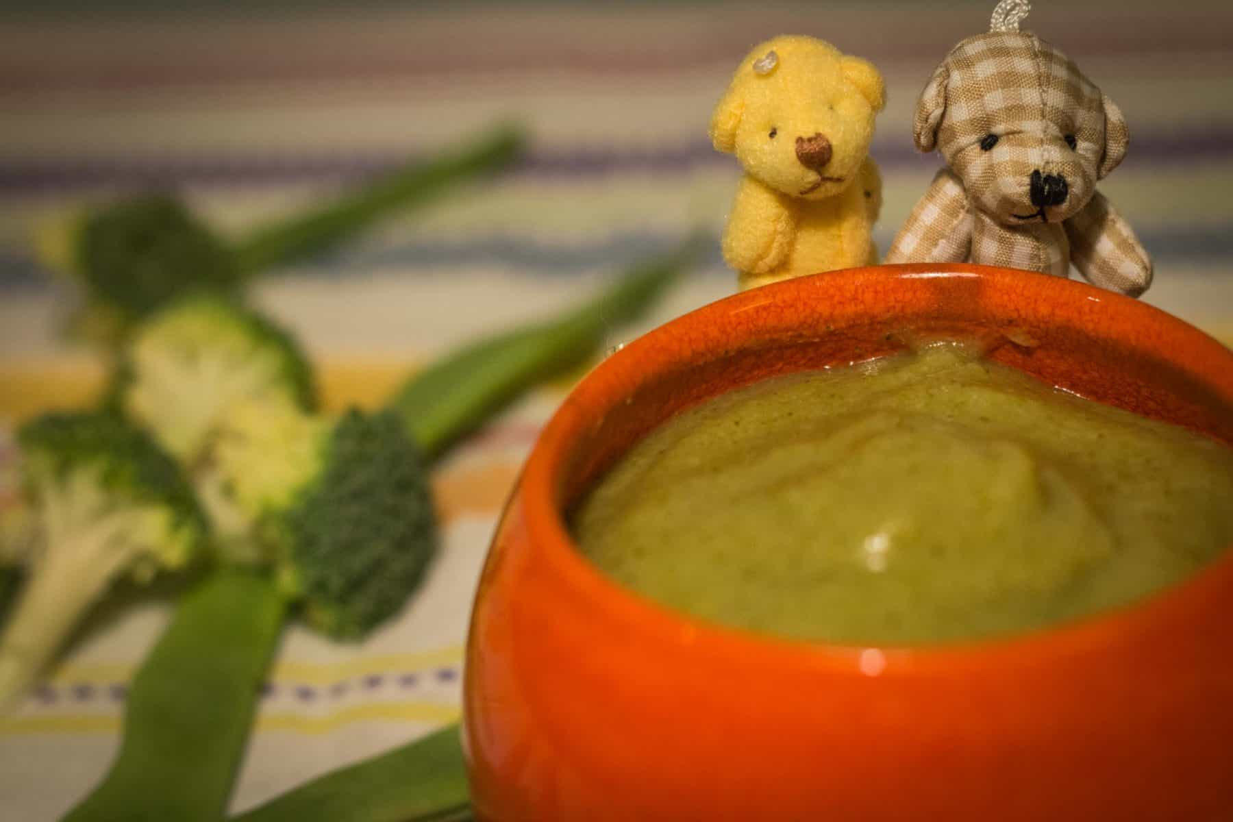 Sopa de feijão-verde