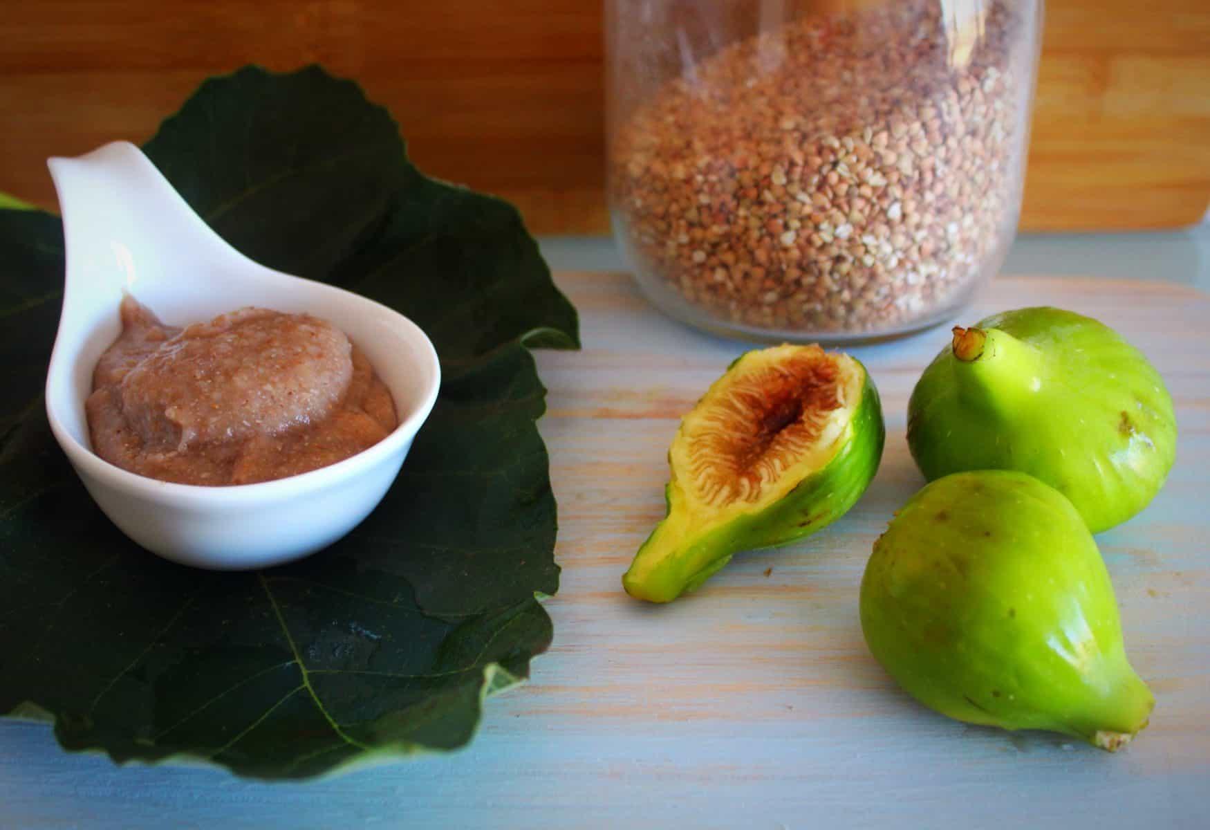 Figos sarracenos com banana