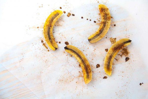 Bananas em papelote
