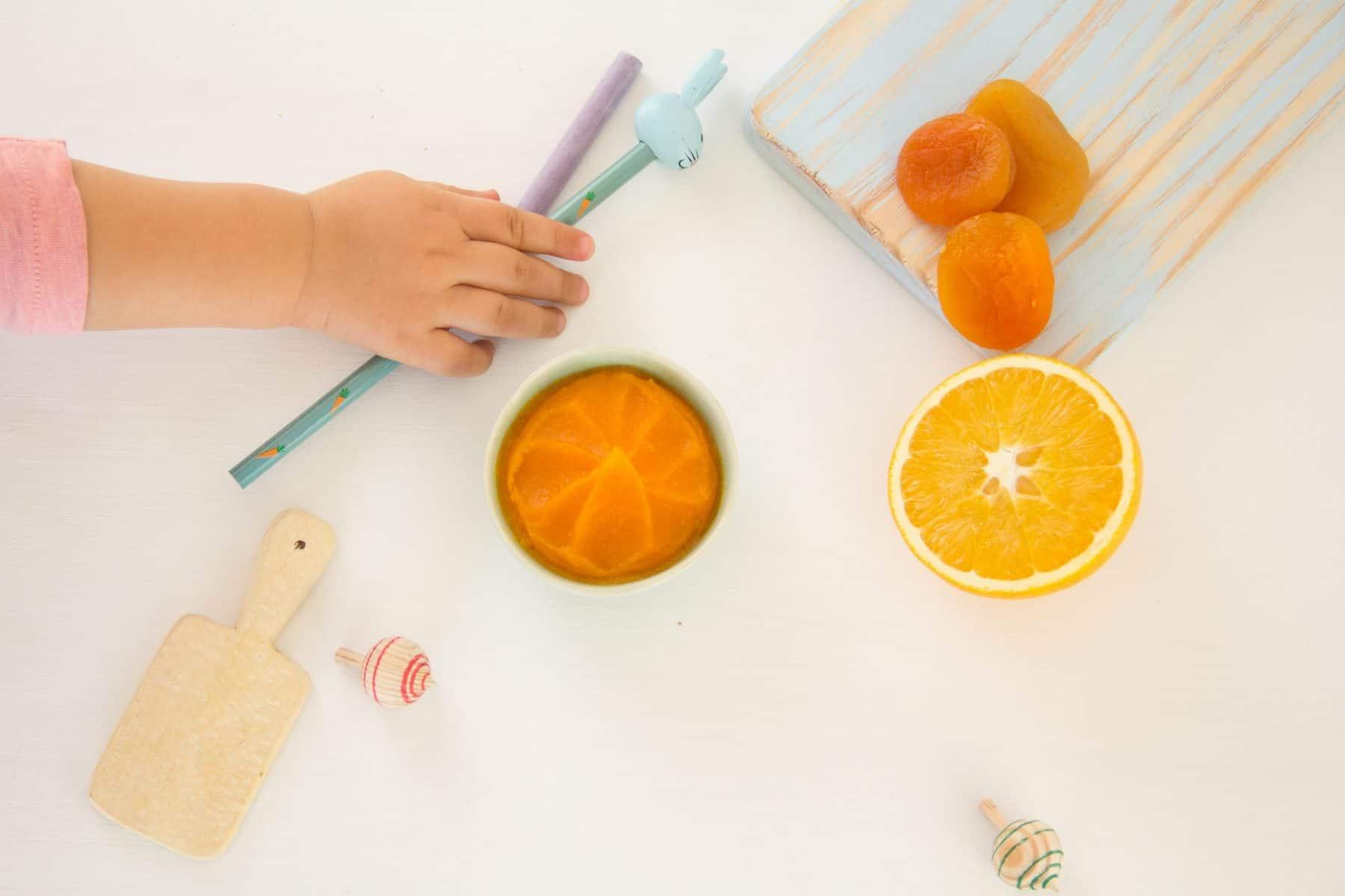 Compota de laranja e gengibre