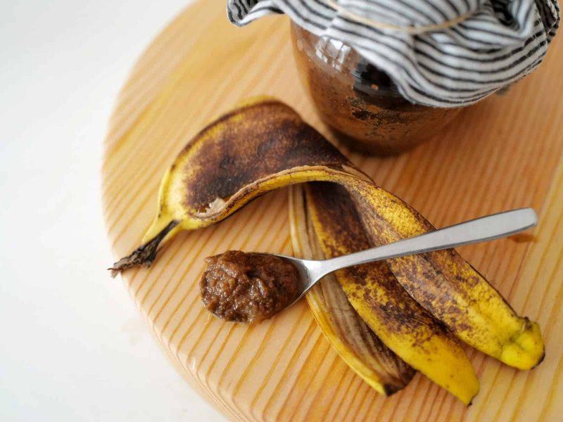 Compota de casca de banana