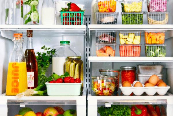 organizar o frigorífico