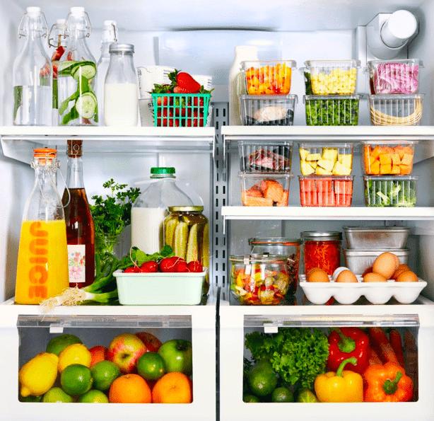 Vamos aprender a organizar o frigorífico?