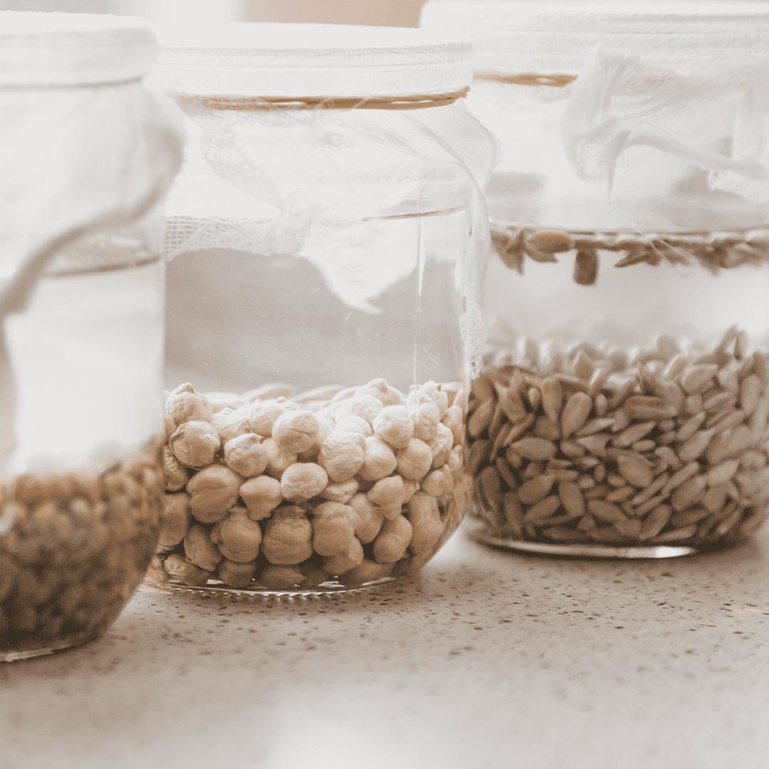 Devemos demolhar os cereais e leguminosas?