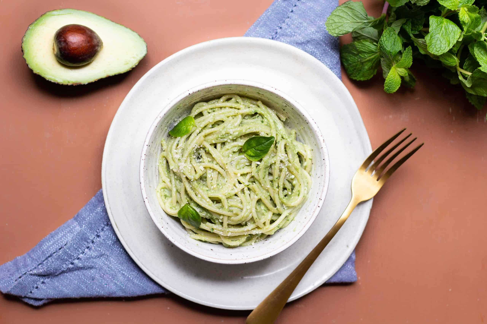 Esparguete com Pesto
